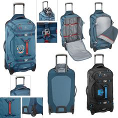 Lightweight Gear Warrior bag has many key features that make your travels easier. Eagle Creek, Corporate Gifts, Travel Bag, Brand Names, Bags, Key, Handbags, Unique Key, Promotional Giveaways