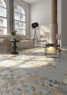 Patterned Floor Tiles Ireland at The Italian Tile and Stone Studio Dublin