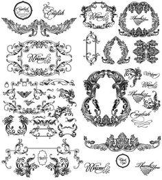 Free Vintage Ornaments, Embellishments, and Frames