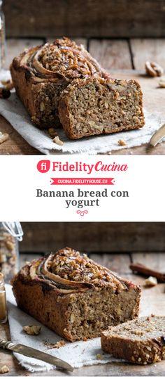 Yogurt Banana Bread, Plum Cake, Breakfast Cake, Something Sweet, Sweet Recipes, Bakery, Food And Drink, Sweets, Snacks