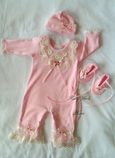 Dont Miss these Kitty Girls Coutu... Awesome outfits  http://jenskidsboutique.net/products/kitty-girls-couture-pink-romper-set-w-hat-and-booties?utm_campaign=social_autopilot&utm_source=pin&utm_medium=pin