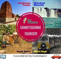 Chhattisgarh Tourism- Get complete information about popular tourist destinations in Chhattisgarh.