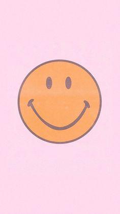Pink Smiley | Iphone wallpaper pattern, Preppy wallpaper, Pink wallpaper iphone