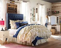 Teenage Girl Bedroom Ideas   Whimsy   PBteen