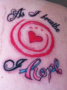 """Fertility awareness symbol in the center. The """"hope"""" as a infertility ribbon."""
