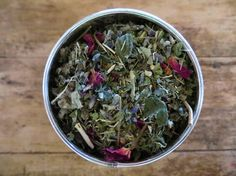 Moon Tea: An Herbal Loose Leaf Tea for Women...perfect to sip at the beginning of a woman's moon cycle