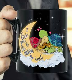 Cute mug Yes when it would be shared more cuter Land Turtles, Baby Sea Turtles, Coffe Cups, Turtle Homes, Sea Turtle Jewelry, Tortoise Turtle, Cute Mugs, Tortoises, Gadgets And Gizmos