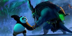"""Enjoy The Art of Kung Fu Panda 3 in a collection of Concept Art made for the movie. Continuing his """"legendary adventures of awesomeness"""", Po must face two"""