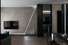 Modern Interior, Interior Design, System Furniture, Tv Unit Design, Futuristic Design, Drawing Room, Apartment Design, Interior Lighting, Living Room Interior