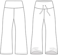 ThePortlander pants are so comfortable yet versatile that you can wear them lounging around drinking your coffee, or dressed up to go out on the town. Features a tall waistband much like a control panel, or simply fold it down for a lower rise. No serger required! No special tools needed. Comes in sizes xx-small, x-small, small, medium, large, xl, 2x, 3x.  This pattern is designed for knits. Suggested fabrics include: Sweatshirt fleece, fleece, french terry, light to heavy weightfabric…