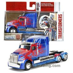 Jada Year 2017 Transformers The Last Knight Series 1:32 Scale Die Cast Metal Cars - OPTIMUS PRIME (Western Star 5700 XE Phantom) Transformers Action Figures, Transformers Toys, Superhero Emblems, Phantom 1, Transformers Collection, Last Knights, Wrangler Shirts, Ford Raptor, Bendy And The Ink Machine