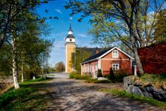 Ostrobothnia province of Western Finland - Österbotten. Grave Monuments, Church Building, Graveyards, Countries, Westerns, Buildings, House Styles, Finland, Europe