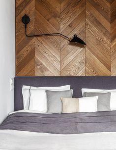 Минималистичная однокомнатная квартира для девушки в Москве (34 кв. м) | Пуфик - блог о дизайне интерьера