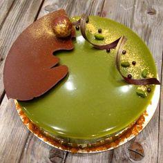 Цветная зеркальная глазурь для торта