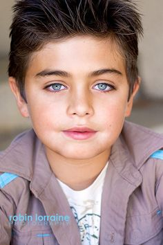 Kids headshots.   Child acting headshot for TV & film.  It's all in the eyes for a great kids headshot.