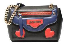 Je vends un petit Marc Jacobs démodé et j'aimerai prendre un sac à chaîne intemporel mais original. Je choisis lequel ?  Sacs à main Love zip shoulder bag Love Moschino vue 3/4