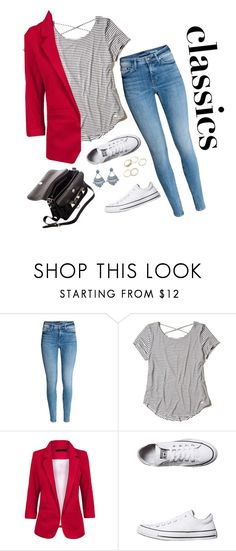 """""""classic"""" by vale14m on Polyvore featuring Hollister Co., Converse and Proenza Schouler"""
