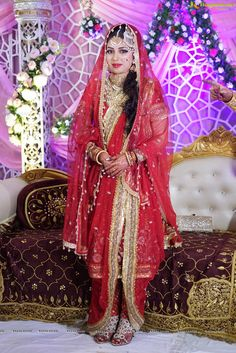 Khada Dupatta   Hyderabadi Bride
