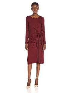 Three Dots Womens Whitney B Lt Wt Viscose Malbec Large *** You can get additional details at the image link.