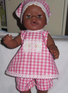 leuk om poppenkleertjes te maken voor de poppen van je dochter!!!