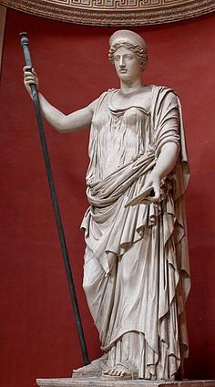 "Demeter/Ceres    Goddess of fertility, agriculture, nature, and the seasons. Symbols include the poppy, wheat, torch, and pig. Middle daughter of Cronus and Rhea. Her Latin name, Ceres, gave us the word ""cereal""."