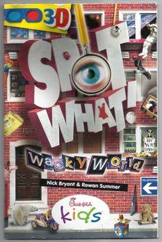 Wacky World Spot What Nick Bryant Rowan Summers Paperback Book 3D Chick-fil-a