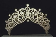 Tiara Cartier de la Condesa de Essex, con motivo de la coronación de Edward VII