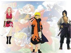 Naruto Sasuke and Sakura Grown Up Read Naruto Manga Online Anime Naruto, Naruto Sasuke Sakura, Itachi Uchiha, Sakura Haruno, Kakashi, Naruto Shippuden Hd, Naruto Shippuden Characters, Naruto Sage, Naruto Pictures