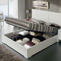 muebles inteligentes: 4 SENCILLAS IDEAS PARA AMUEBLAR UN DORMITORIO PEQU...