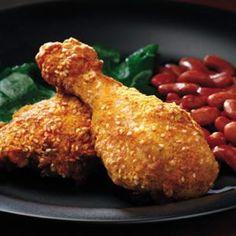 Υπέροχα νέα! Το τραγανό κοτόπουλο με κρούστα μπορεί να είναι υγιεινό! Αποφύγετε τα πολλά λιπαρά στο τηγάνισμα, ψήνωντας τα μπουτάκια ...