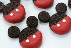 Mickey Mouse Cookies Recipe inspired by Mickey Mouse