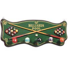 Billiards coat rack for a man cave or game room BilliardFactory.com