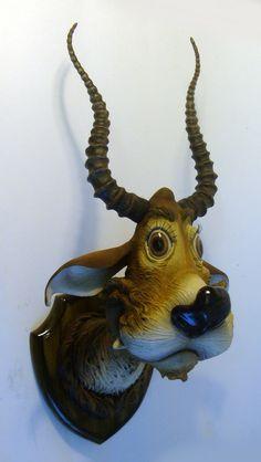 "Saatchi Online Artist: Carl Turner; Clay Sculpture ""Great Fuzzle Deer"""