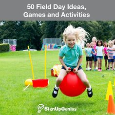 50 Field Day Ideas, Games and Activities. Plan a fun end of year celebration at your school.