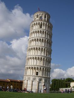 Pisa, Italy. Very pretty architecture and awesome to see in person.