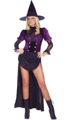 Costume de Sorcière de Cabaret