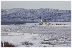 Nesseby Church in Varangerbotn, Noorwegen Norway, Landscapes, Travel, Outdoor, Paisajes, Voyage, Outdoors, Viajes, Traveling