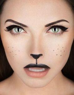 Maquillaje de gatito.