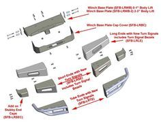 Suzuki Samurai Defiant Armor Modular Front Bumpers by Low Range Off-Road - Front… Mini Trucks, Lifted Trucks, Chevy Trucks, Pickup Trucks, Dually Trucks, Truck Bumper, Off Road Bumpers, Winch Bumpers, Grand Vitara