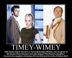This is what happened to Jenny (The Doctor's Daughter).     I bet you didn't know that!