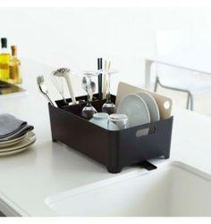 egouttoir-vaisselle-design-noir-yamazaki