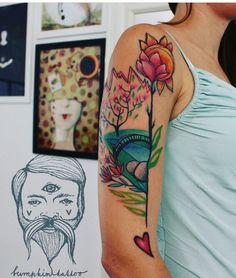Lucy Hudecova bumpkin tattoo