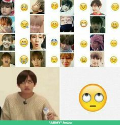 Kim Taehyung as emojis. Emojis as Kim Taehyung Jimin, Bts Bangtan Boy, Famous Meme, Ivana, Kpop Memes, Bts Memes Hilarious, Funny Humor, Funny Videos, Funny Quotes