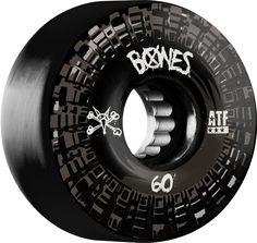 Bones ATF Nobs Skateboard Wheels Black 60MM