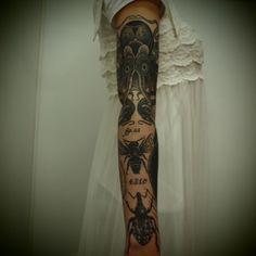 I just like the dainty dress with the tat sleeve.