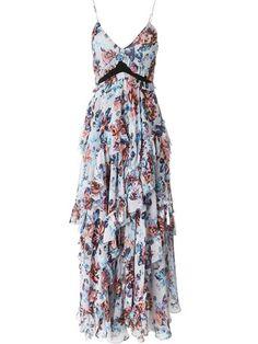 """Comprar Mary Katrantzou vestido floral """"Caliente"""" en D'Aniello from the world's best independent boutiques at farfetch.com. Descubre 400 boutiques en 1 sola dirección."""