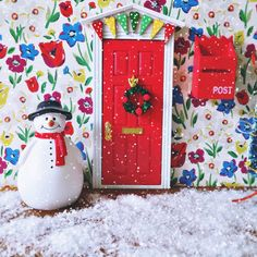 On the TENTH day of Christmas wouldnu0027t you just know .  sc 1 st  Pinterest & The Fairy Postman has fought through the snow to deliver the ... pezcame.com