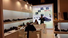 Stand realizado para la mítica Empresa de calzado alicantina PAREDES en el Salón Internacional de la Seguridad, Prevención y Gestión del riesgo EXPOPROTECTION en Noviembre 2014, en París.