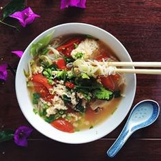 Order bun rieu in Vietnam. | Here's Exactly How To Eat Like A Local Around The World