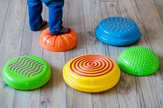 """Daily Mom's Gifts For Active Children Holiday Gift Guide recommends our Sensory Stonez & Stepperz.  """"Are you in search of a gift for a child who loves hopping, skipping, jumping and obstacle courses? Sensory Stonez & Stepperz are a fantastic gift for children who are on the move! These colorful """"stones"""" are so much more than just a fun toy…."""""""